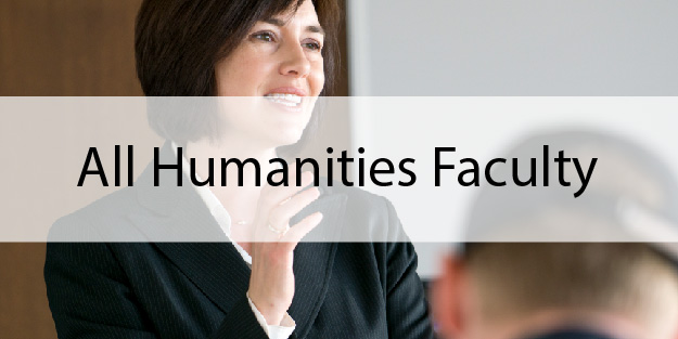All Humanities Faculty