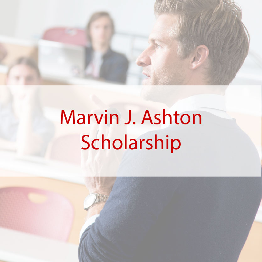 Marvin J. Ashton Scholarship