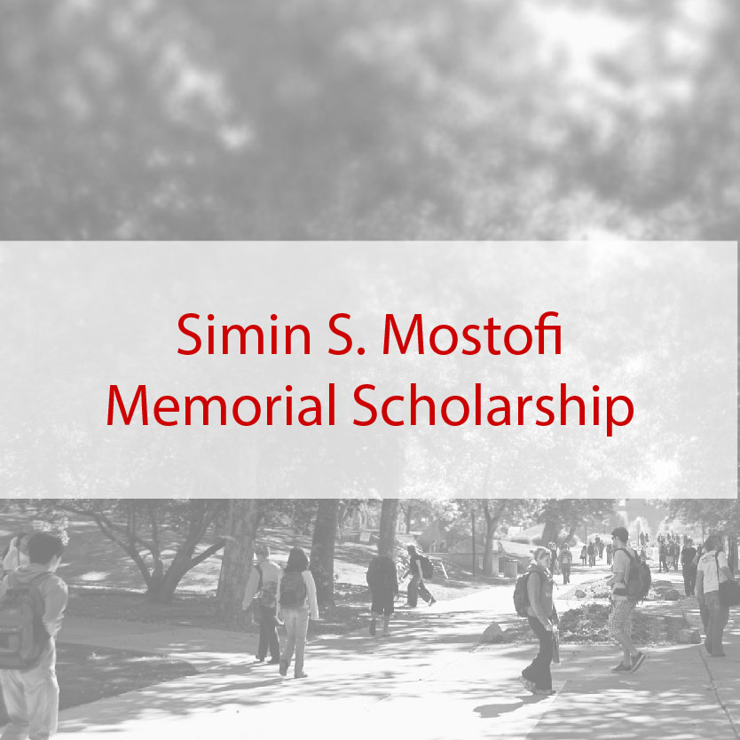 Simin S. Mostofi Memorial Scholarship