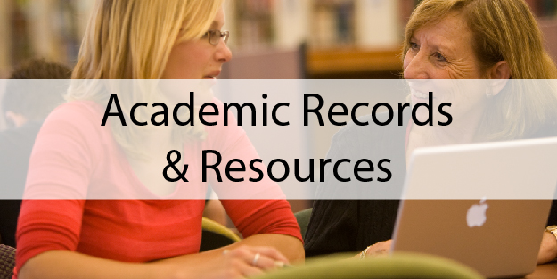 Academic Records and Resources