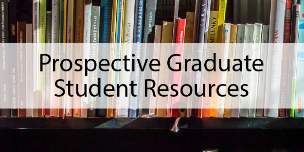 Prospective Graduate Student Resources