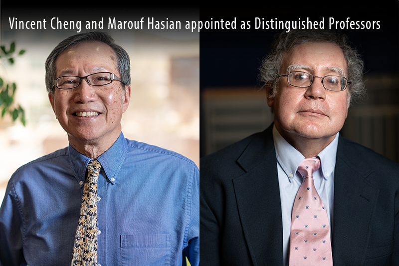 Vincent Cheng and Marouf Hasian appointed as Distinguished Professors