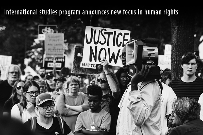 International studies program announces new focus in human rights